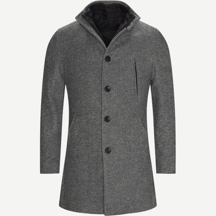 Jacken - Regular - Grau