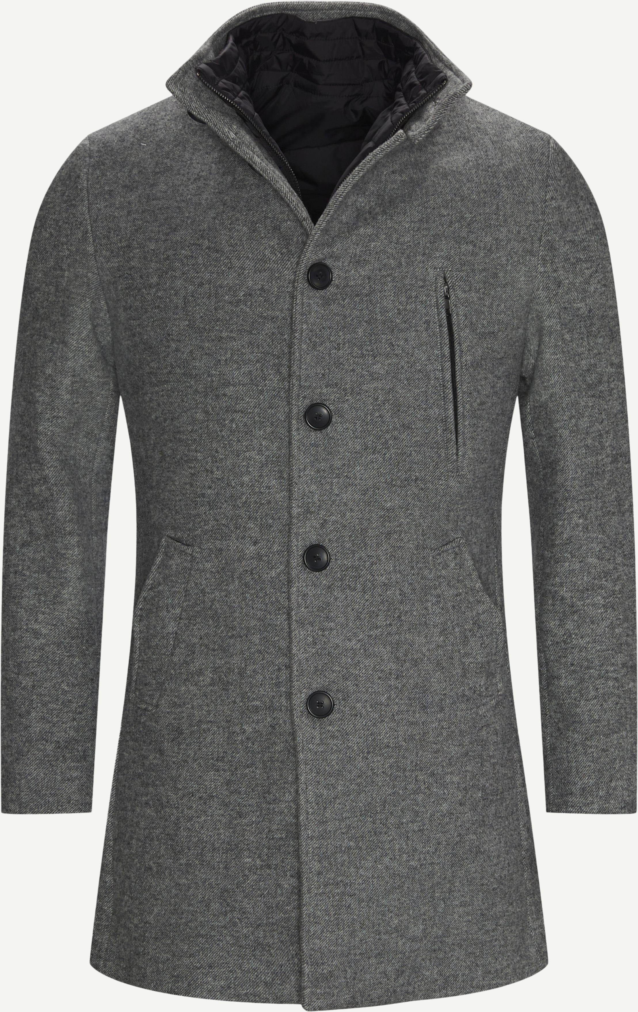 Ontario Jacket - Jakker - Regular fit - Grå