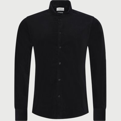 Kyoto Shirt Regular slim fit | Kyoto Shirt | Blå