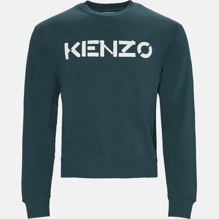Sweatshirts - Oversized - Blå