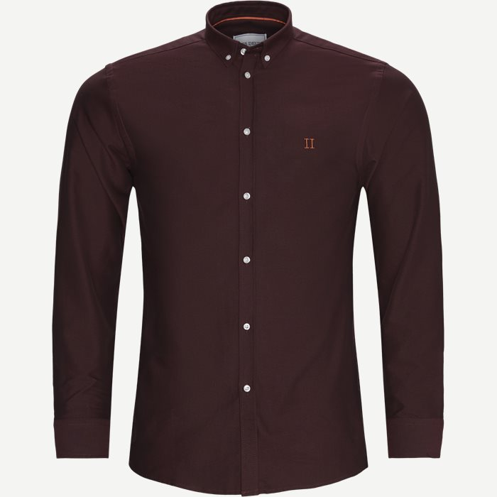 Oliver Oxford Shirt - Skjorter - Slim - Bordeaux