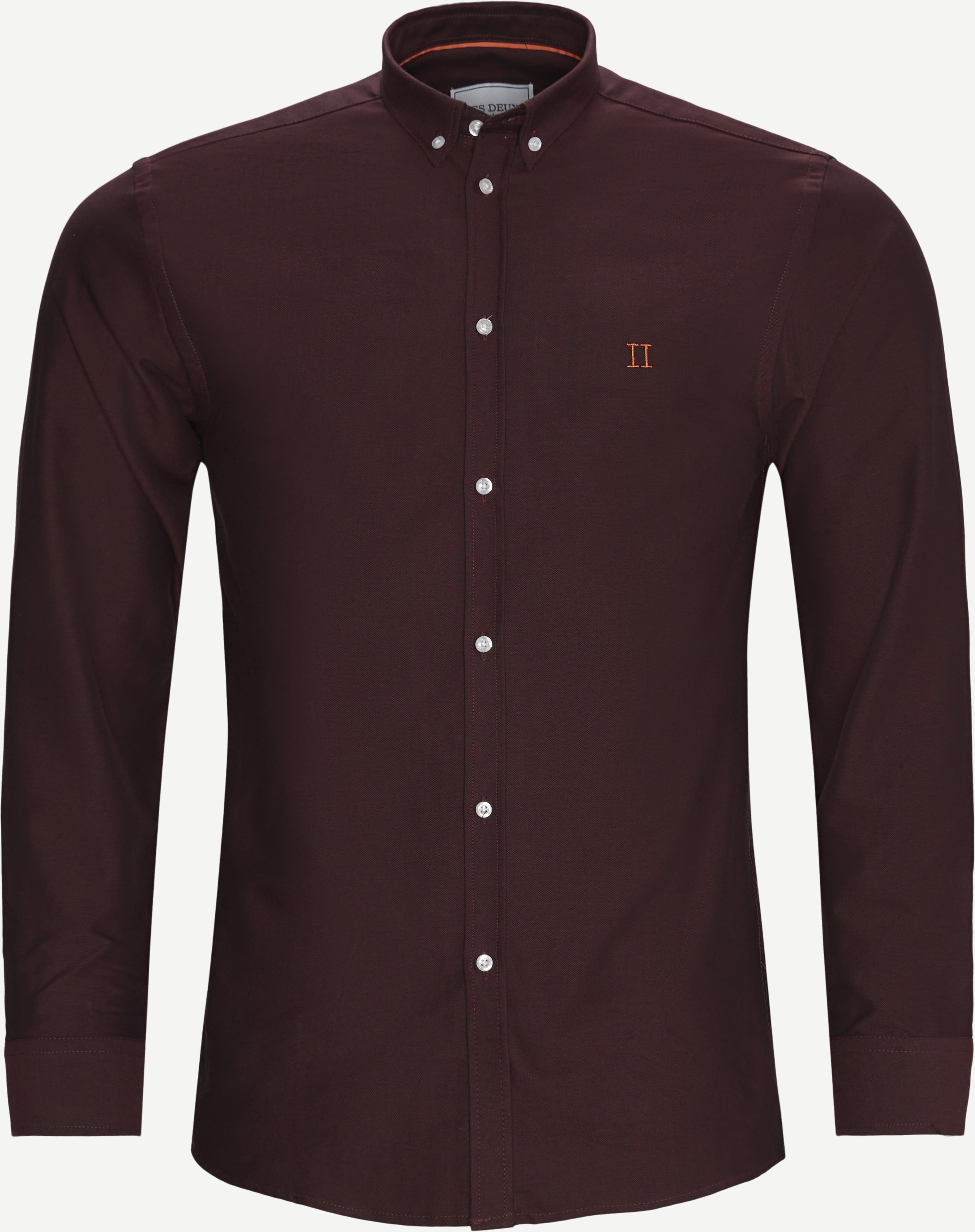 Oliver Oxford Shirt - Shirts - Slim fit - Bordeaux