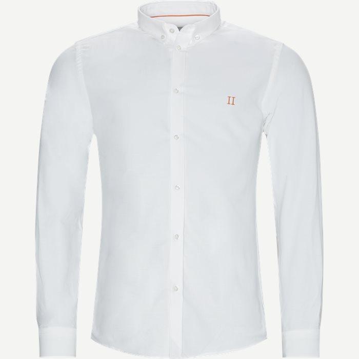 Oliver Oxford Shirt - Skjorter - Slim - Hvid