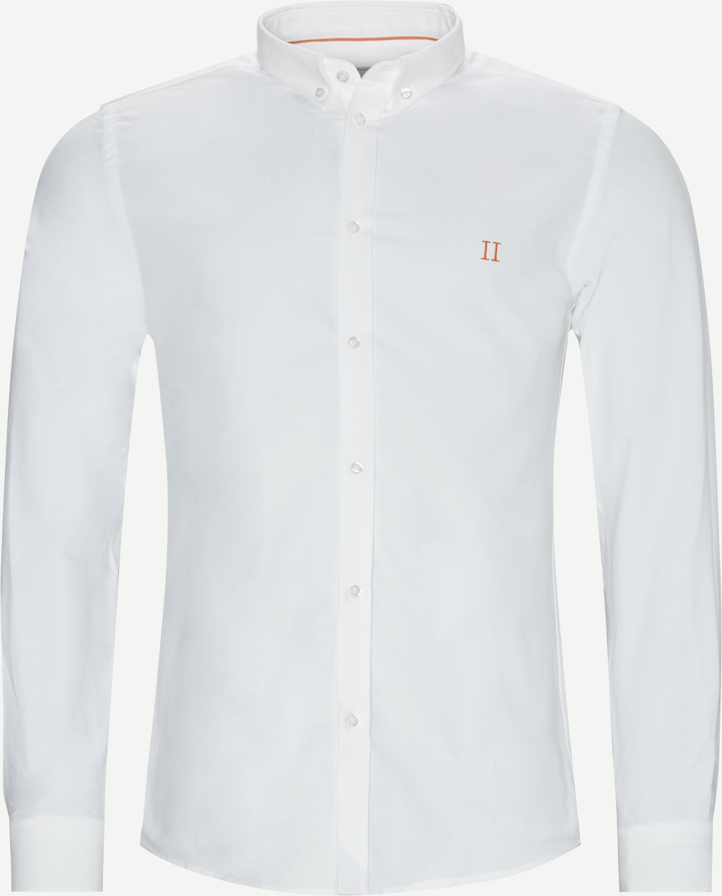 Oliver Oxford Shirt - Shirts - Slim fit - White