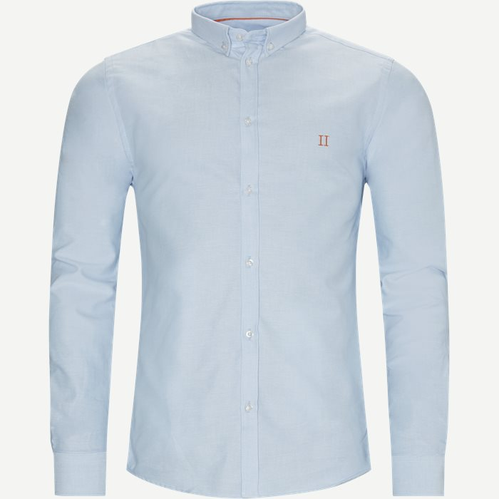 Oliver Oxford Shirt - Skjortor - Slim - Blå