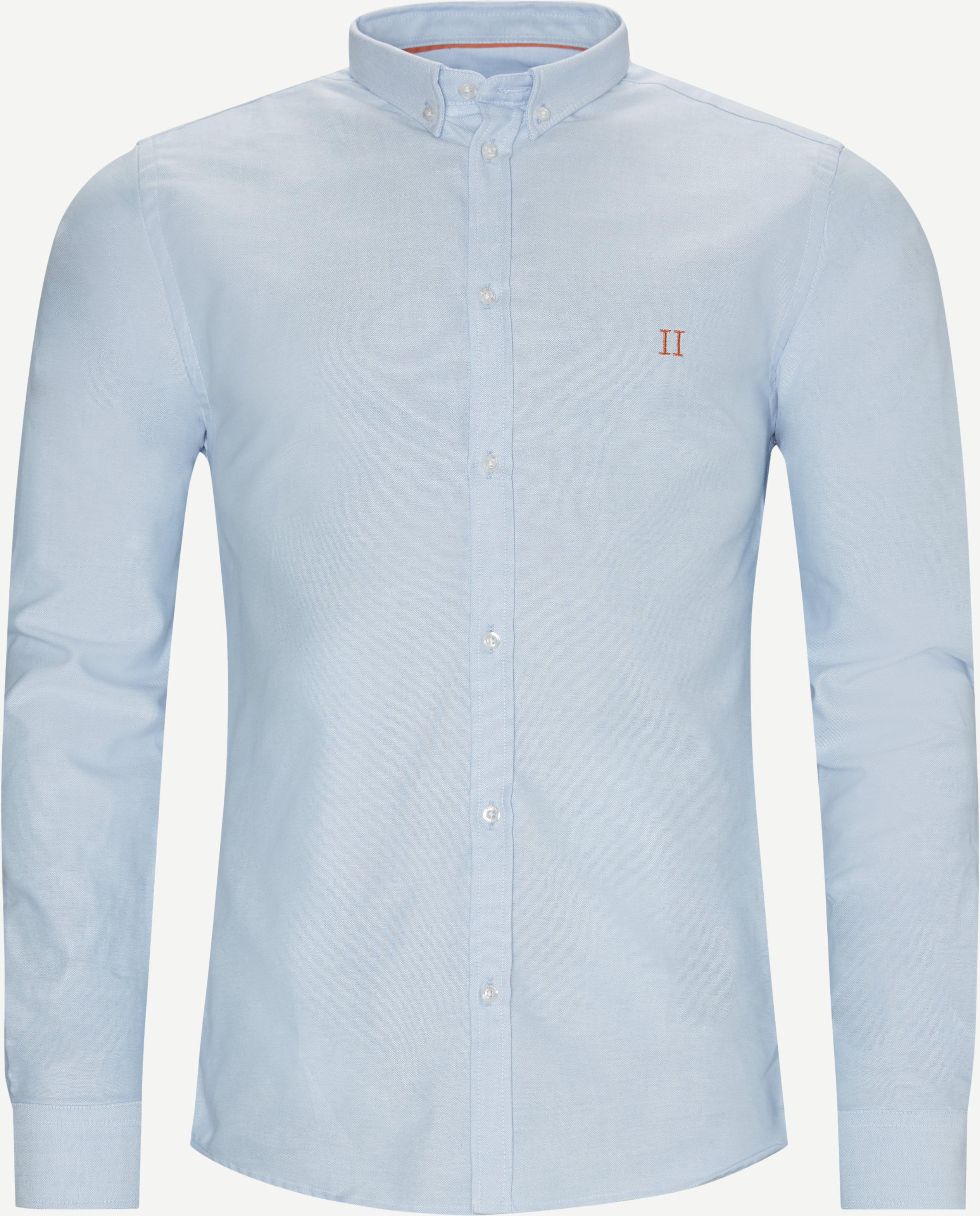Oliver Oxford Shirt - Shirts - Slim - Blue