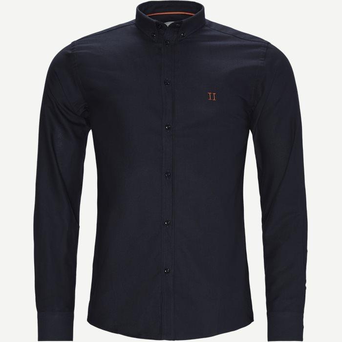 Oliver Oxford Shirt - Skjortor - Slim - Blå