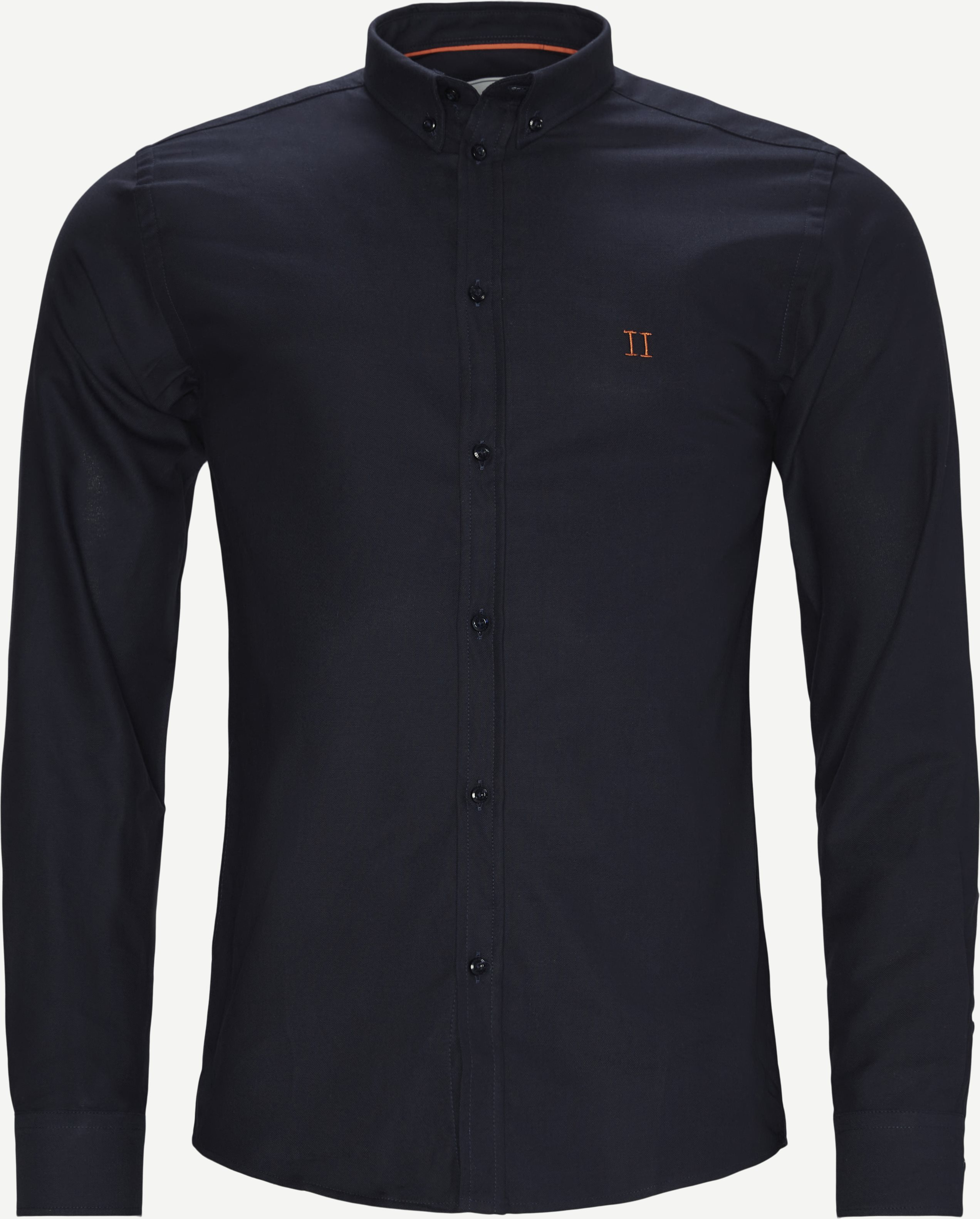 Oliver Oxford Shirt - Shirts - Slim - Blue