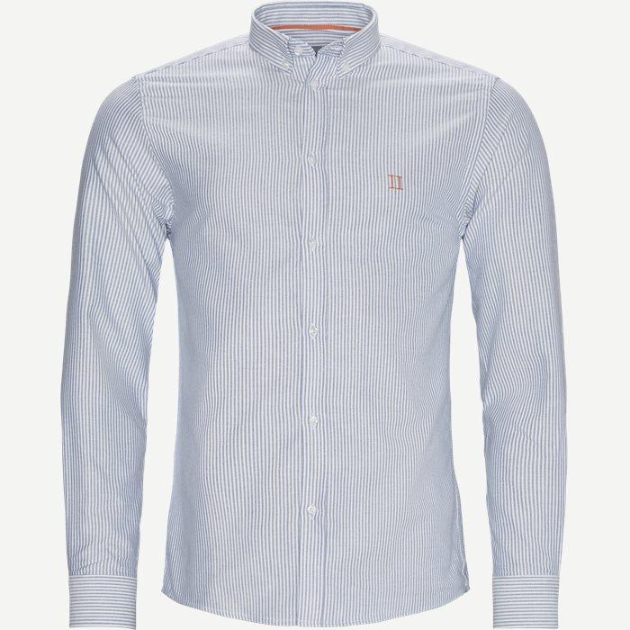 Oliver Oxford Shirt - Skjortor - Slim - Multi