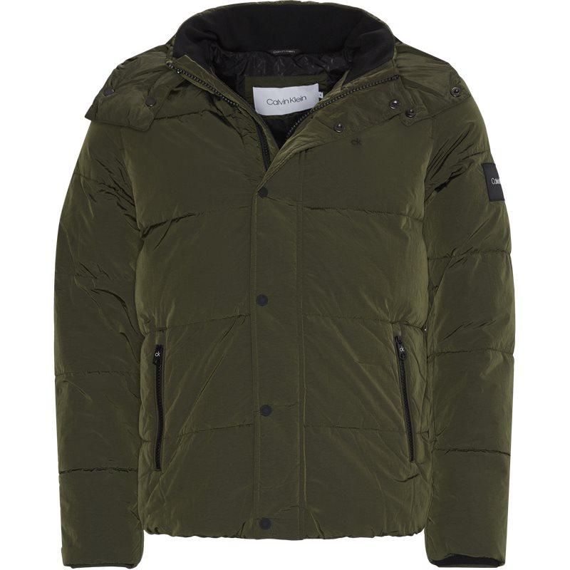 Calvin klein - crinkle nylon jacket fra calvin klein på kaufmann.dk