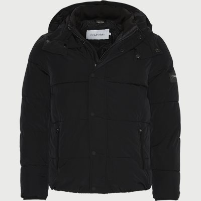 Crinkle Nylon Jacket Regular | Crinkle Nylon Jacket | Sort