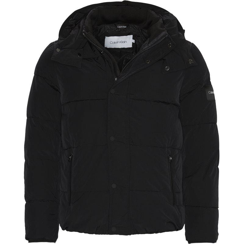 calvin klein Calvin klein - crinkle nylon jacket fra kaufmann.dk