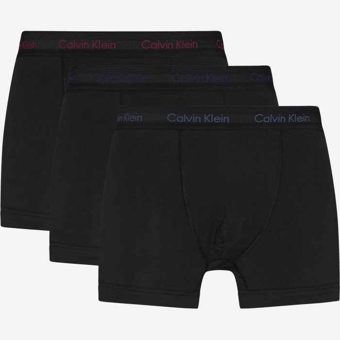 3-Pack Trunks - Underwear - Black
