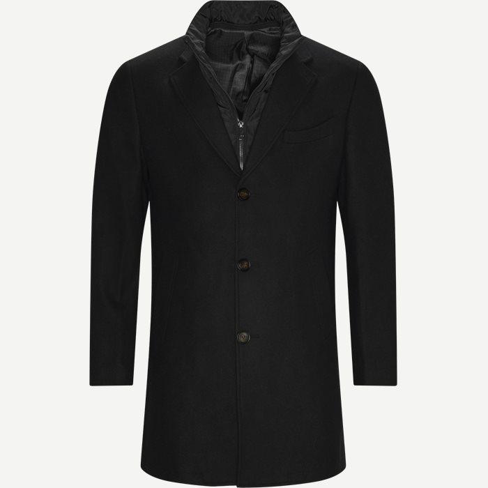 Cadoc Coat - Jackets - Regular - Black