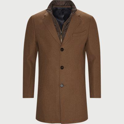 Cadoc Coat Regular fit | Cadoc Coat | Brun