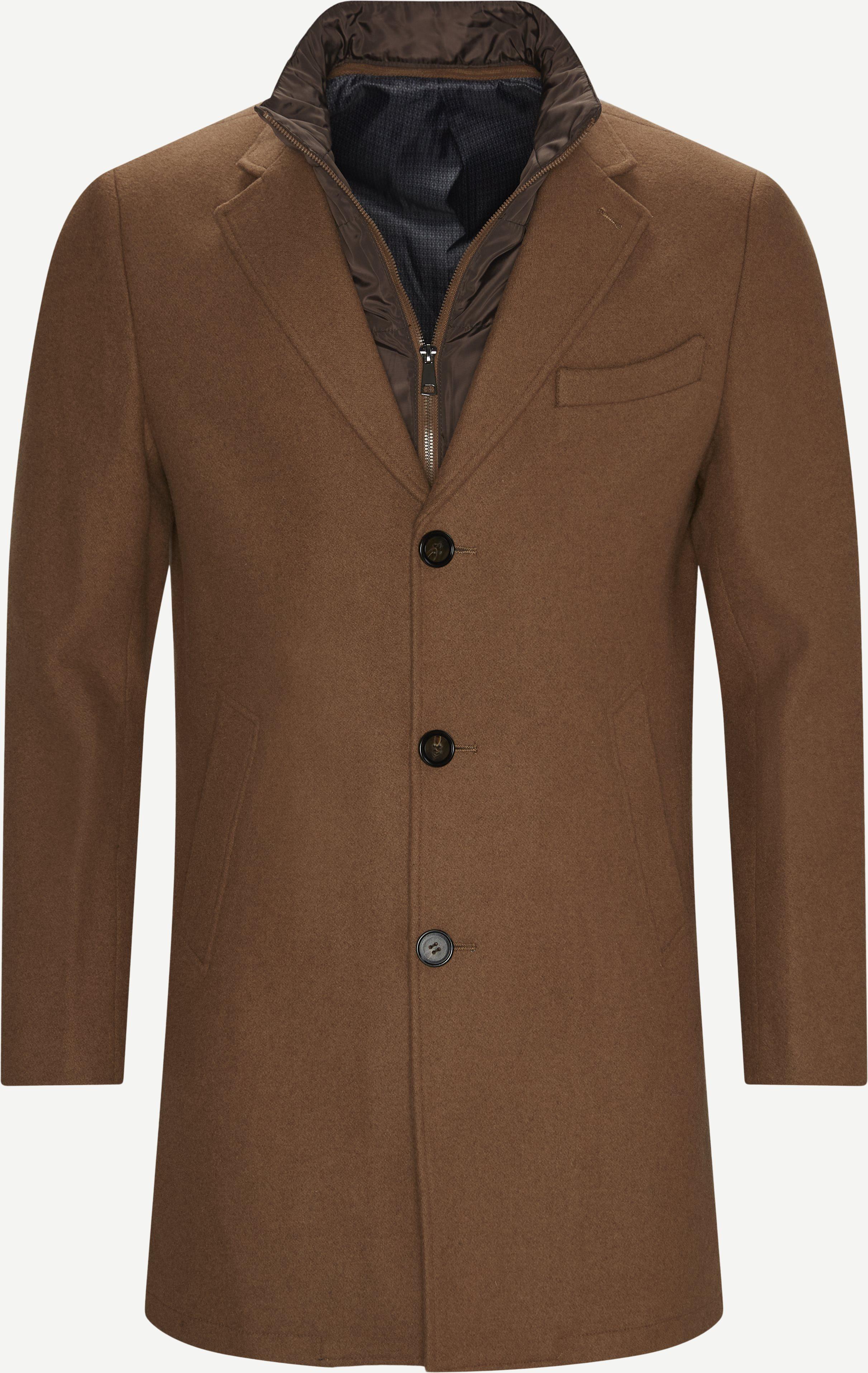 Cadoc Coat - Jackor - Regular fit - Brun