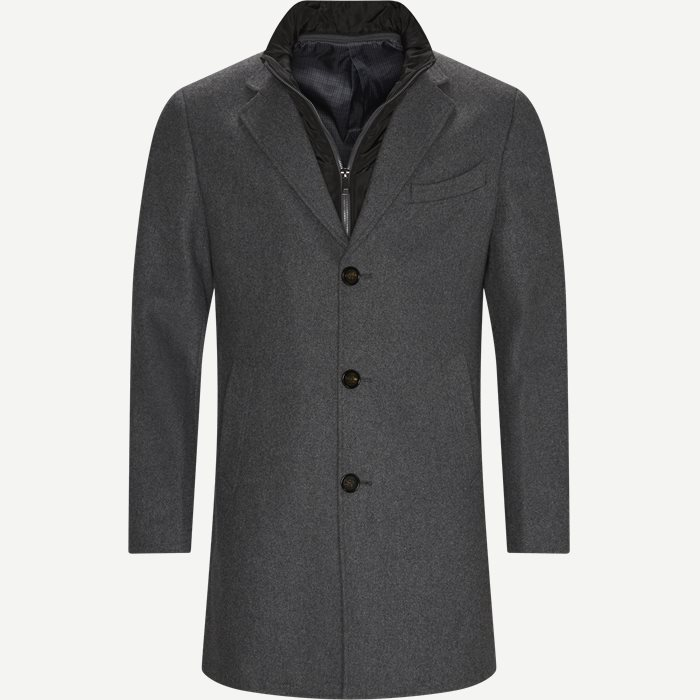 Cadoc Coat - Jakker - Regular - Grå