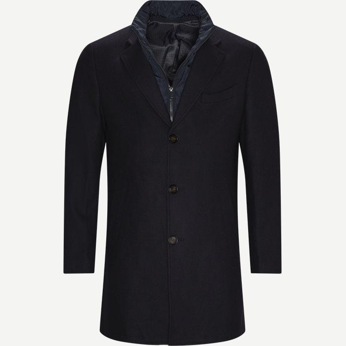 Cadoc Coat - Jackets - Regular - Blue