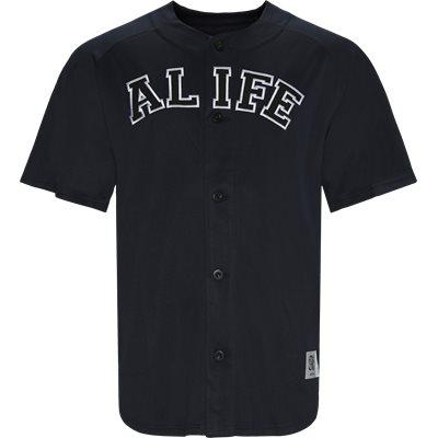 Baseball Mesh Tee Regular | Baseball Mesh Tee | Blå