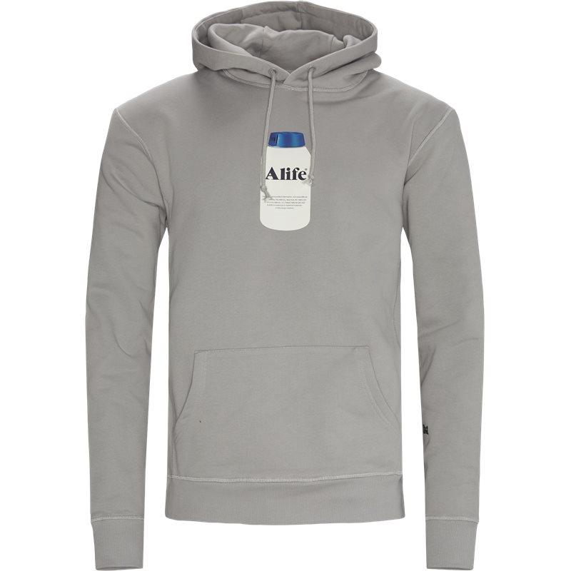 Alife Painkiller Hoodie Sweatshirts Grå