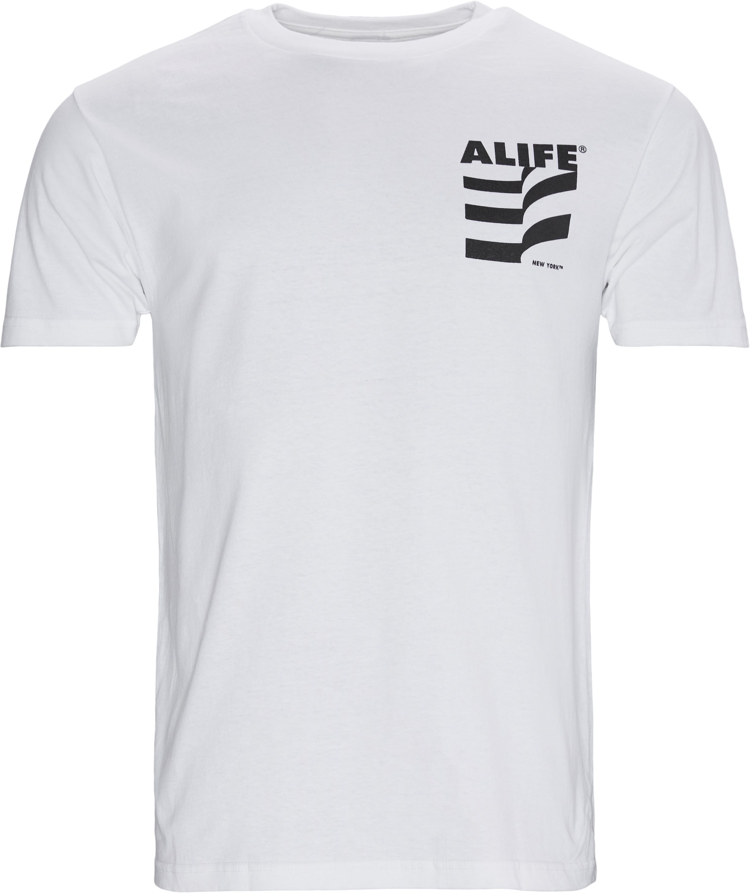 Museum Tee - T-shirts - Regular - Vit