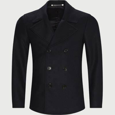 Car Coat Slim | Car Coat | Blå