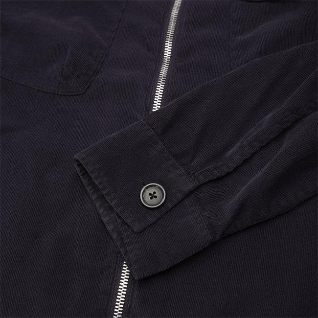 Corduroy Zip Overshirt