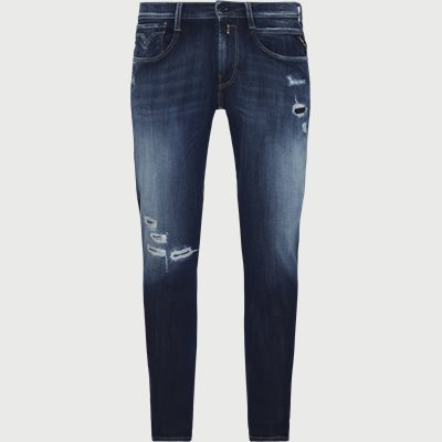 Anbass Hyperflex Jeans Slim | Anbass Hyperflex Jeans | Blå