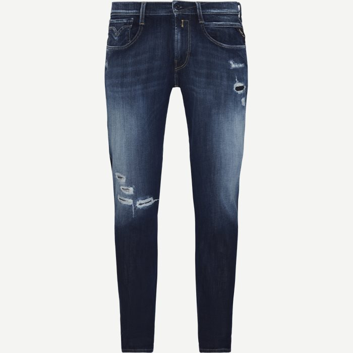 Anbass Hyperflex Jeans - Jeans - Slim - Blå