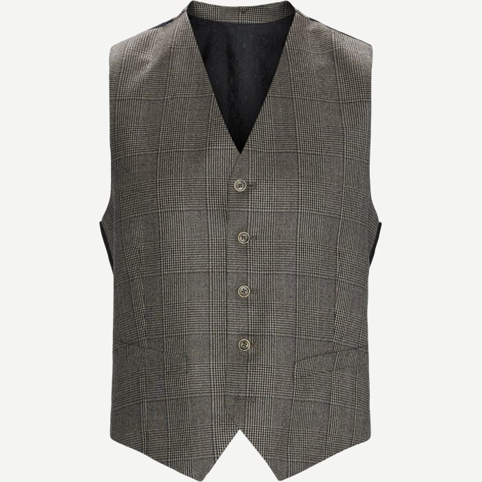 1691 Alford Vests - Vests - Modern fit - Brown