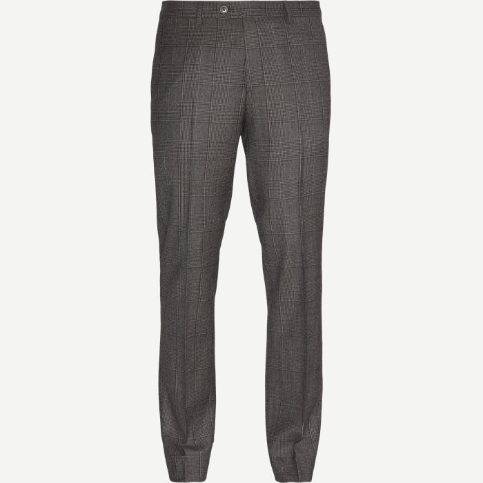 Trousers - Modern fit - Brown