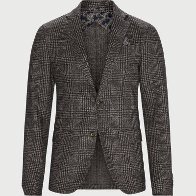 6288 Star Easy Unconstructed Blazer Modern fit | 6288 Star Easy Unconstructed Blazer | Brun