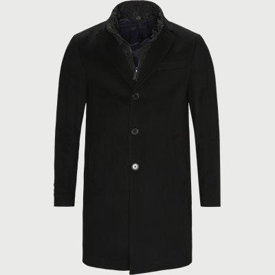 Cashmere Coat Sultan Tech Regular | Cashmere Coat Sultan Tech | Sort