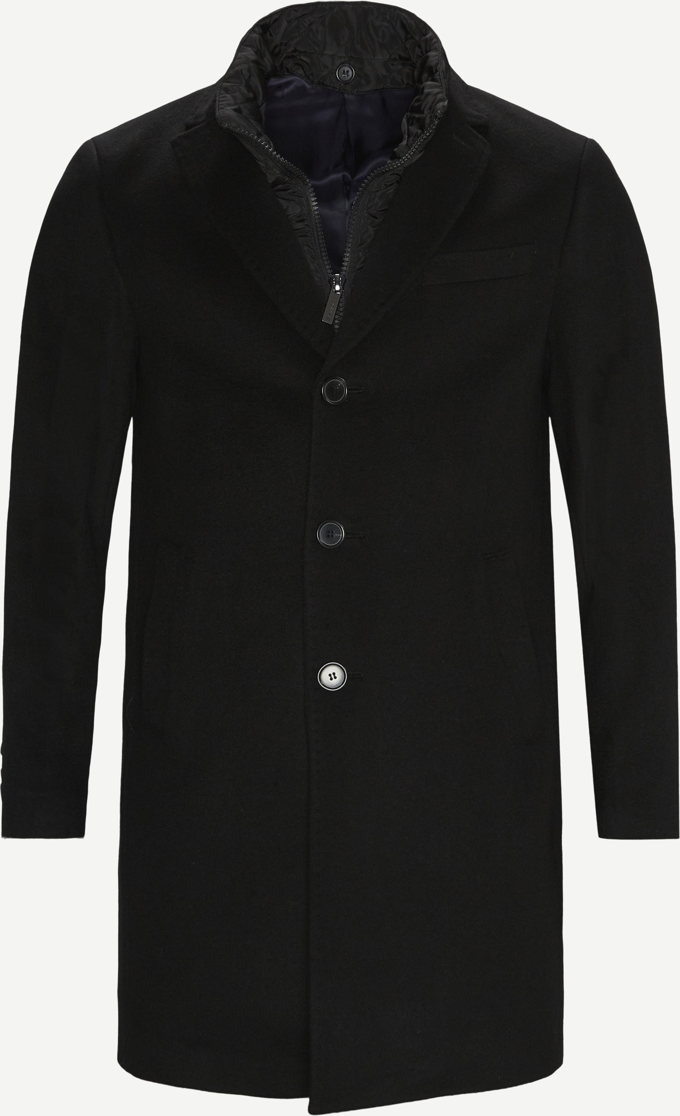 Cashmere Coat Sultan Tech - Jackor - Regular fit - Svart
