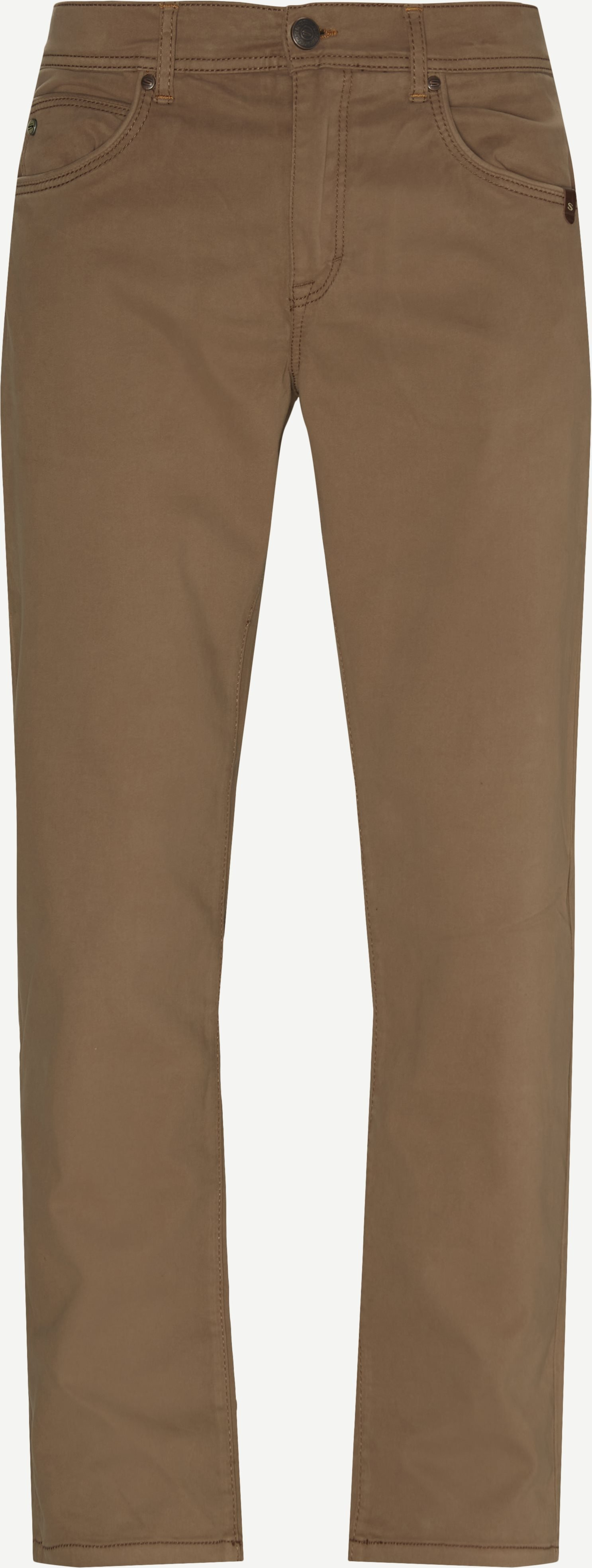 Suede Touch Burton Jeans - Jeans - Modern fit - Sand