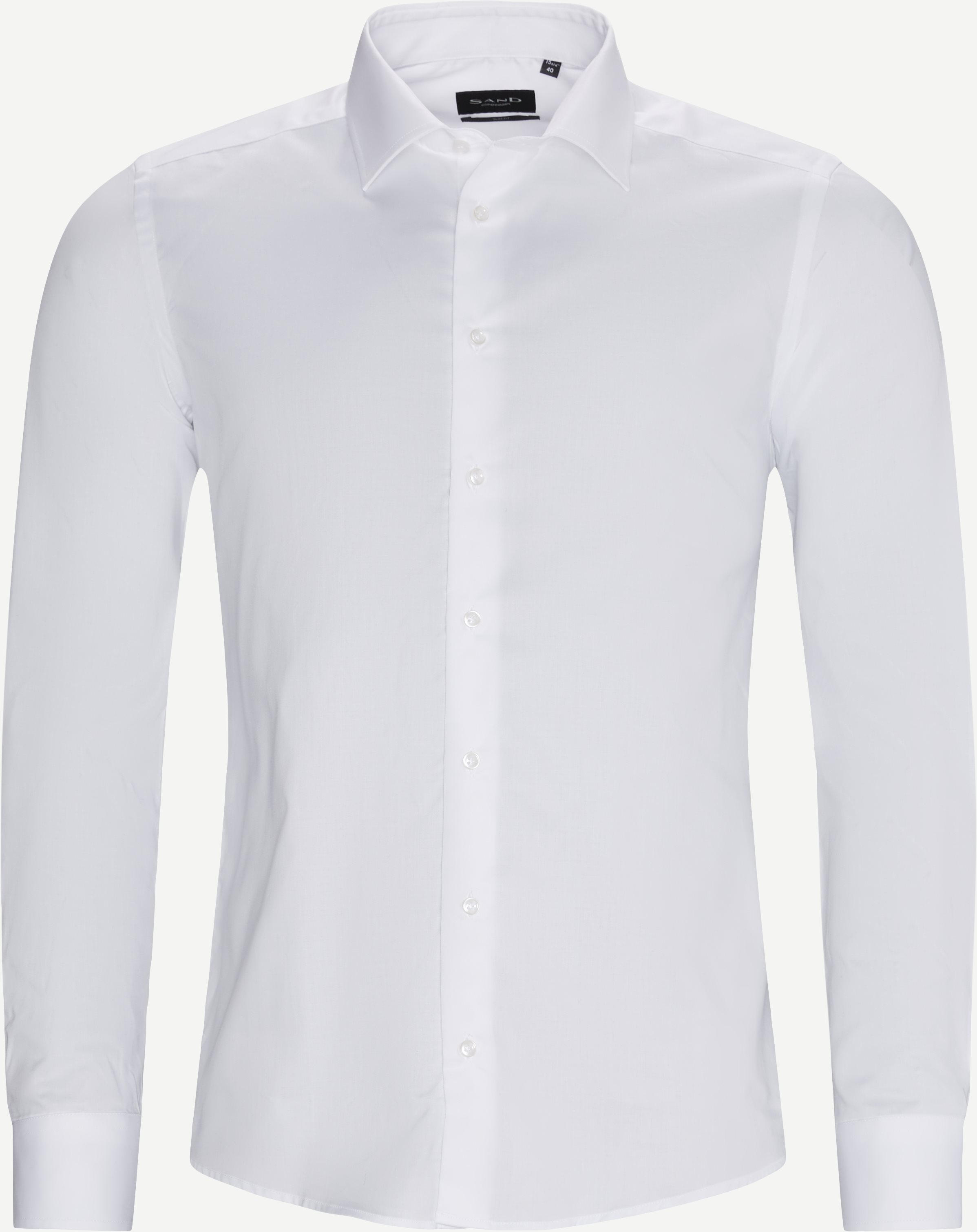 Royal Twill Stretch Iver 2/State N 2 Shirt - Shirts - White