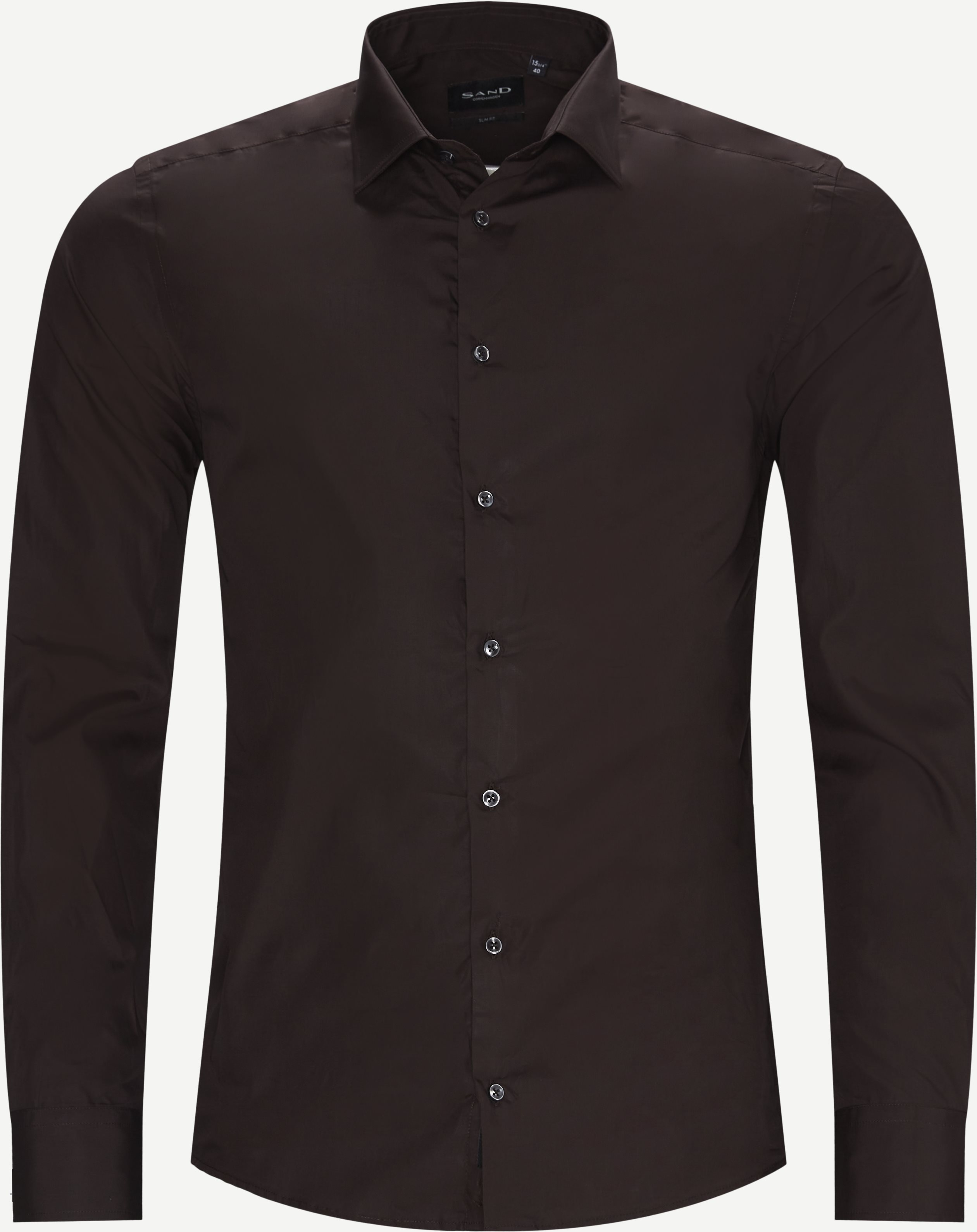Shirts - Brown