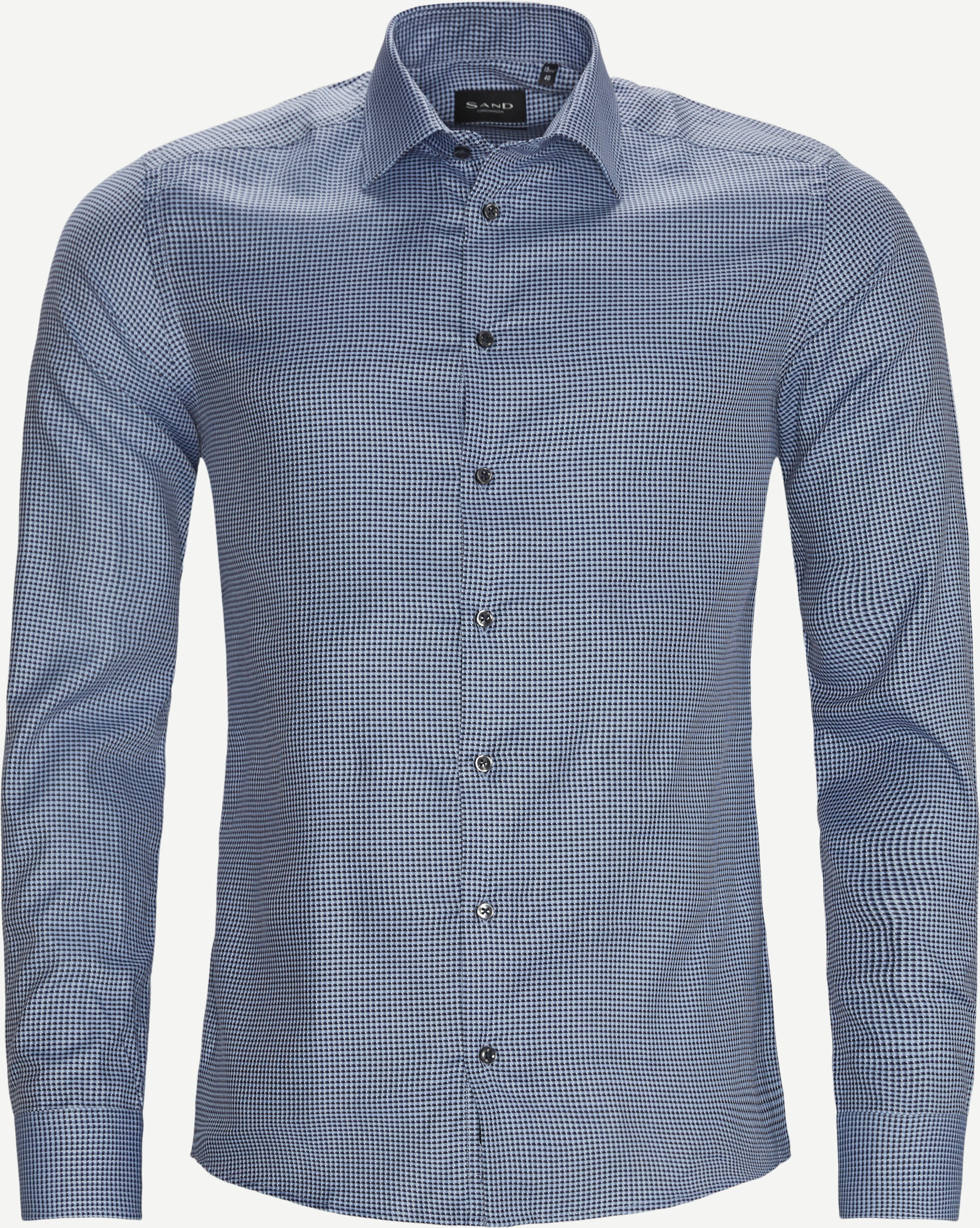 8650 Iver 2/State N 2 Shirt - Skjorter - Blå