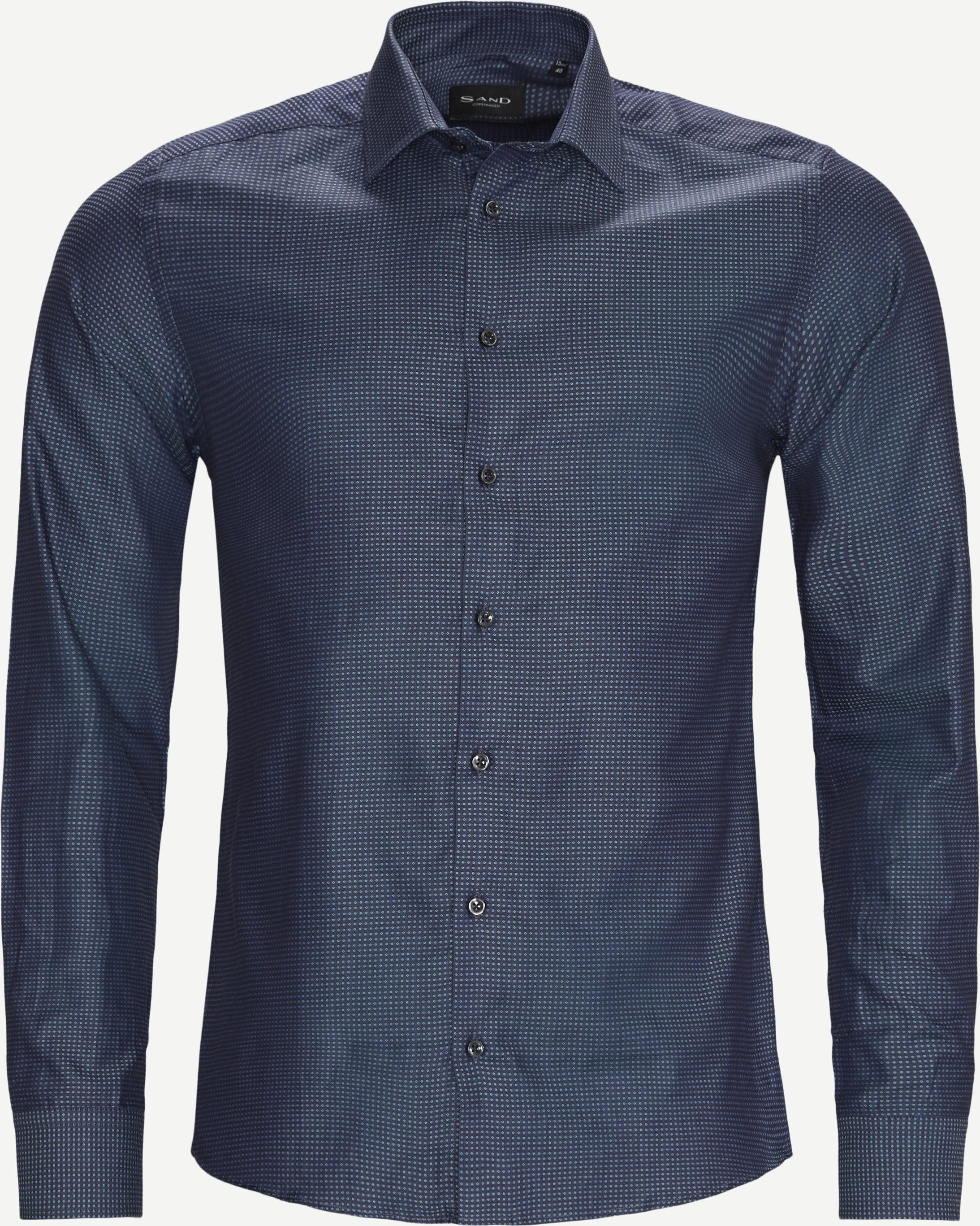 8650 Iver 2/State N 2 Shirt - Skjortor - Blå