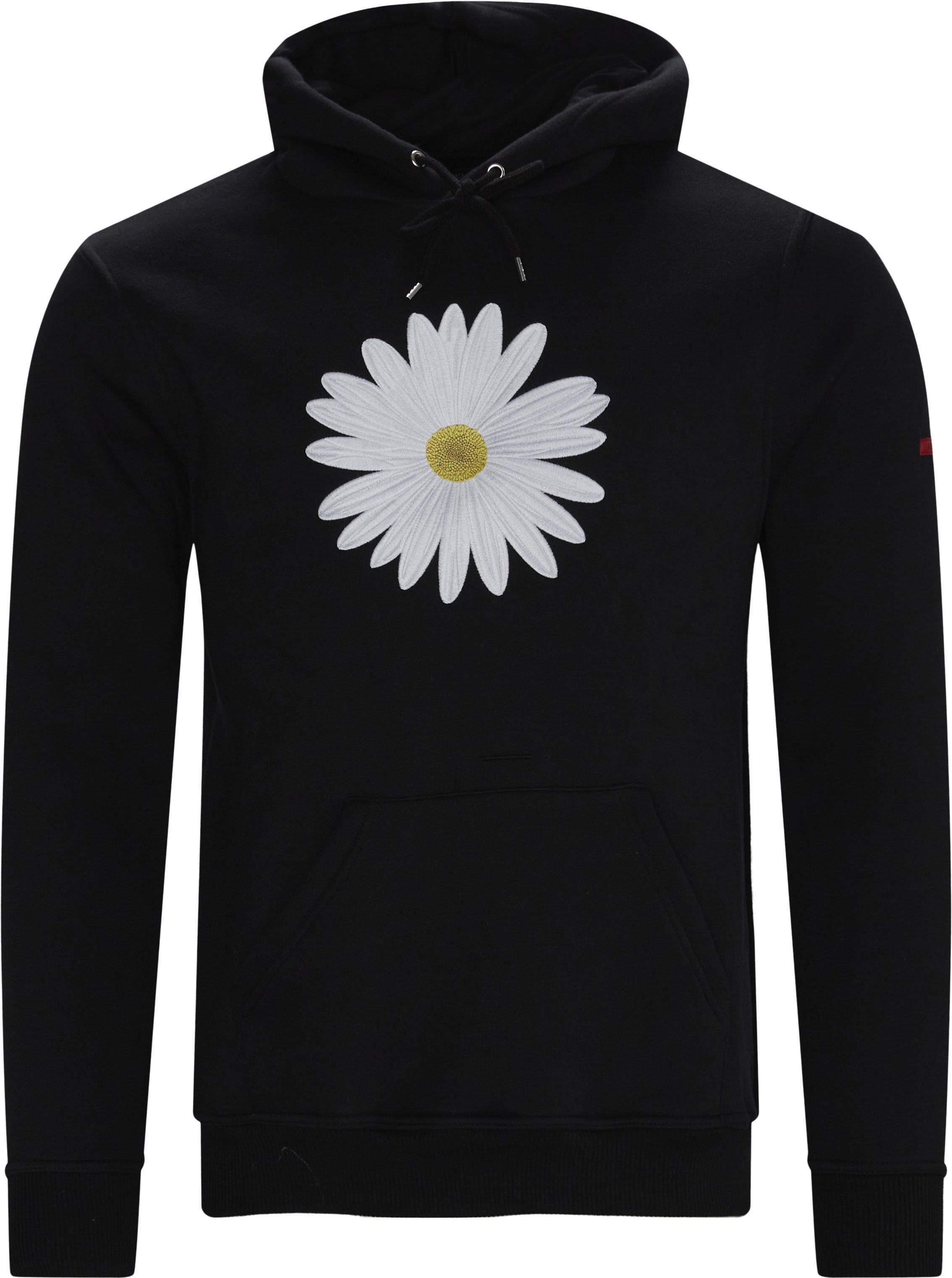 Marguerit Hoodie - Sweatshirts - Regular - Svart