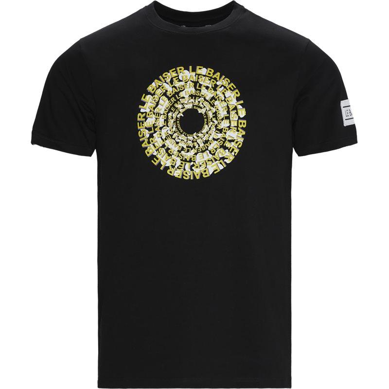 Le baiser crepes t-shirts black fra le baiser fra quint.dk