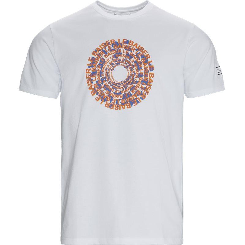le baiser – Le baiser crepes t-shirts white på quint.dk