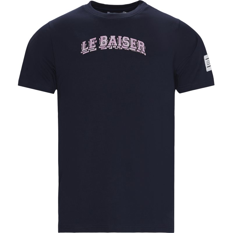 Le baiser brulee t-shirts navy fra le baiser på quint.dk