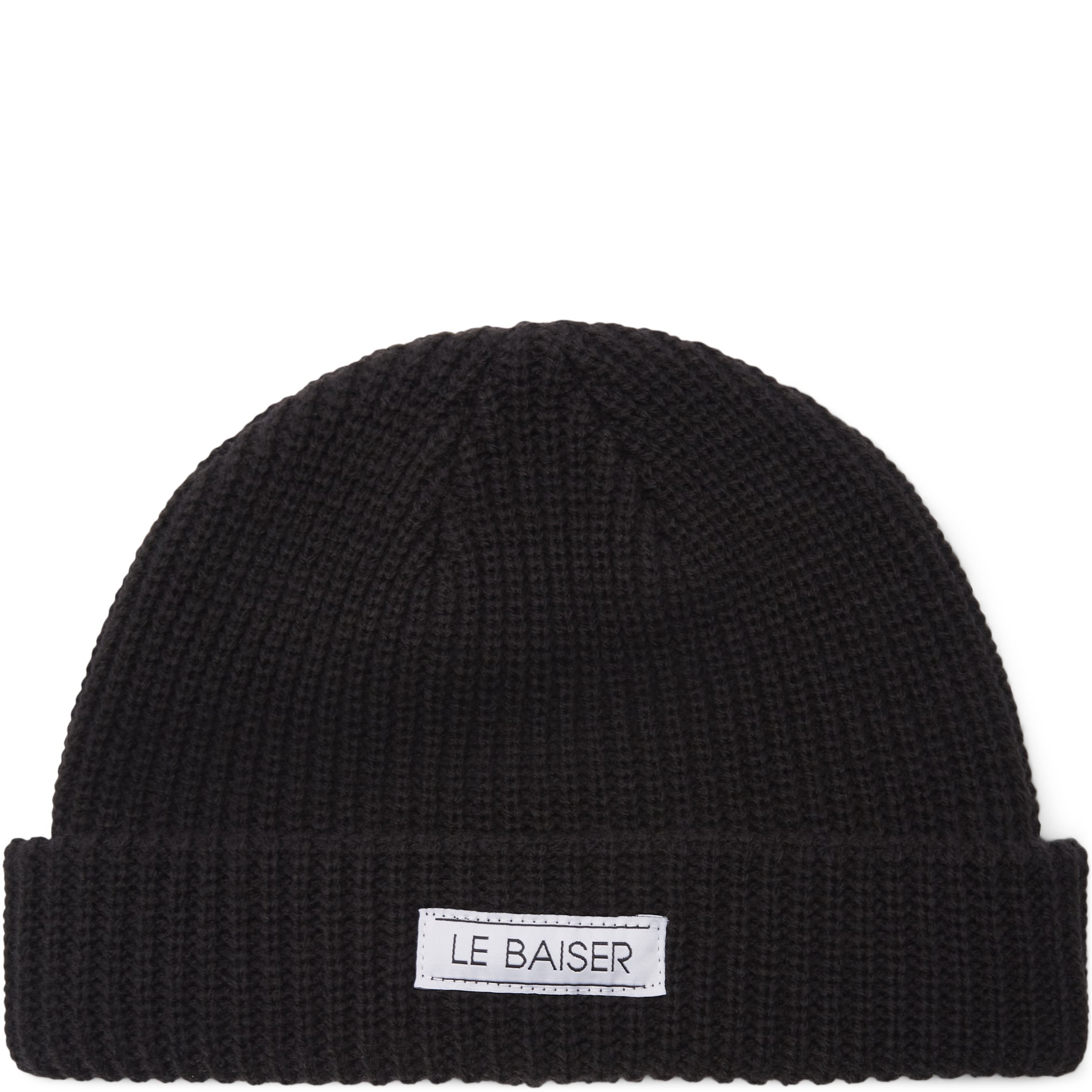 Fisher Beanie - Huer - Sort