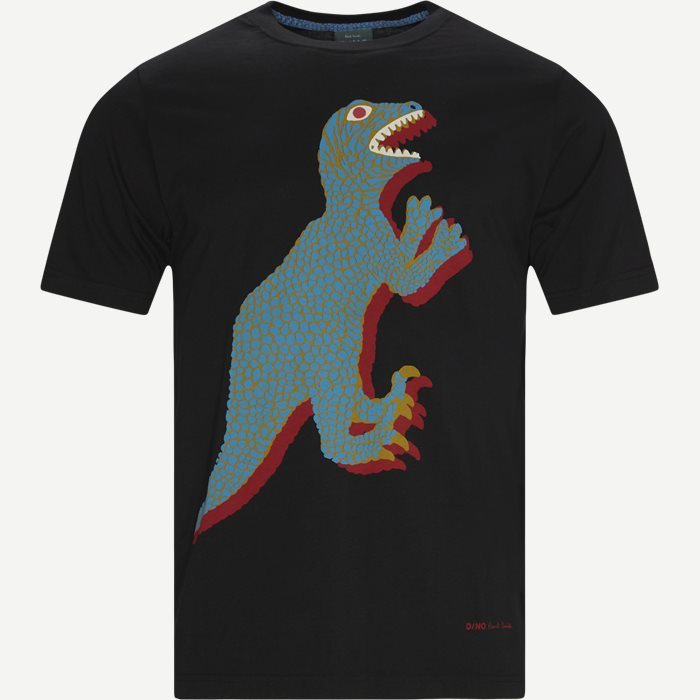 Dino T-shirt - T-shirts - Regular - Black