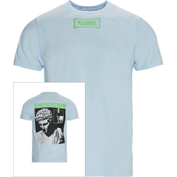 T-shirts - Regular - Blue