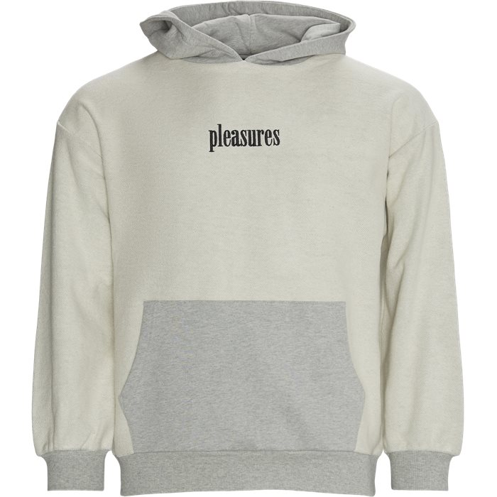 Terry Logic Reverse Hoodie - Sweatshirts - Regular - Grey