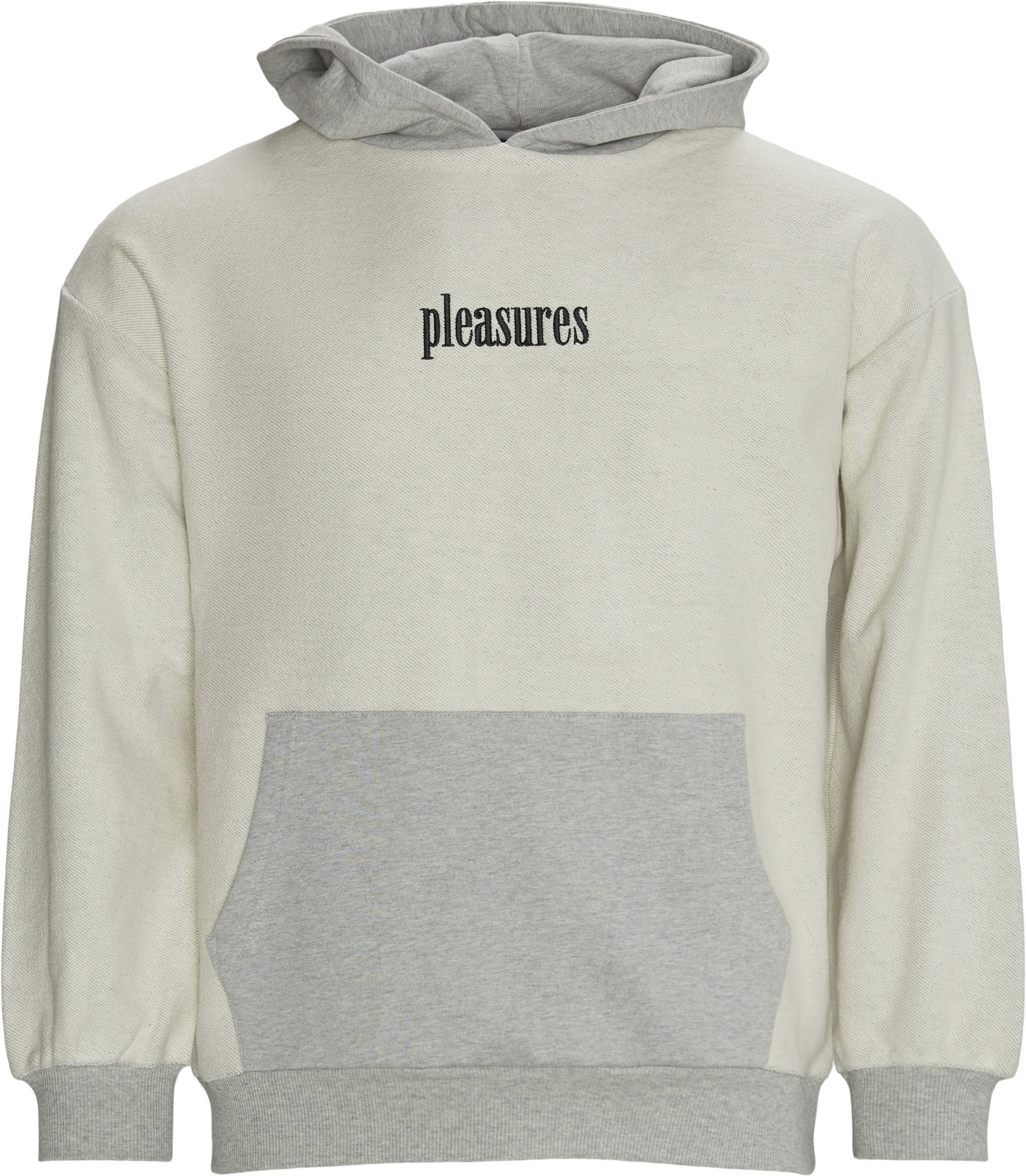 Terry Logic Reverse Hoodie - Sweatshirts - Regular - Grå
