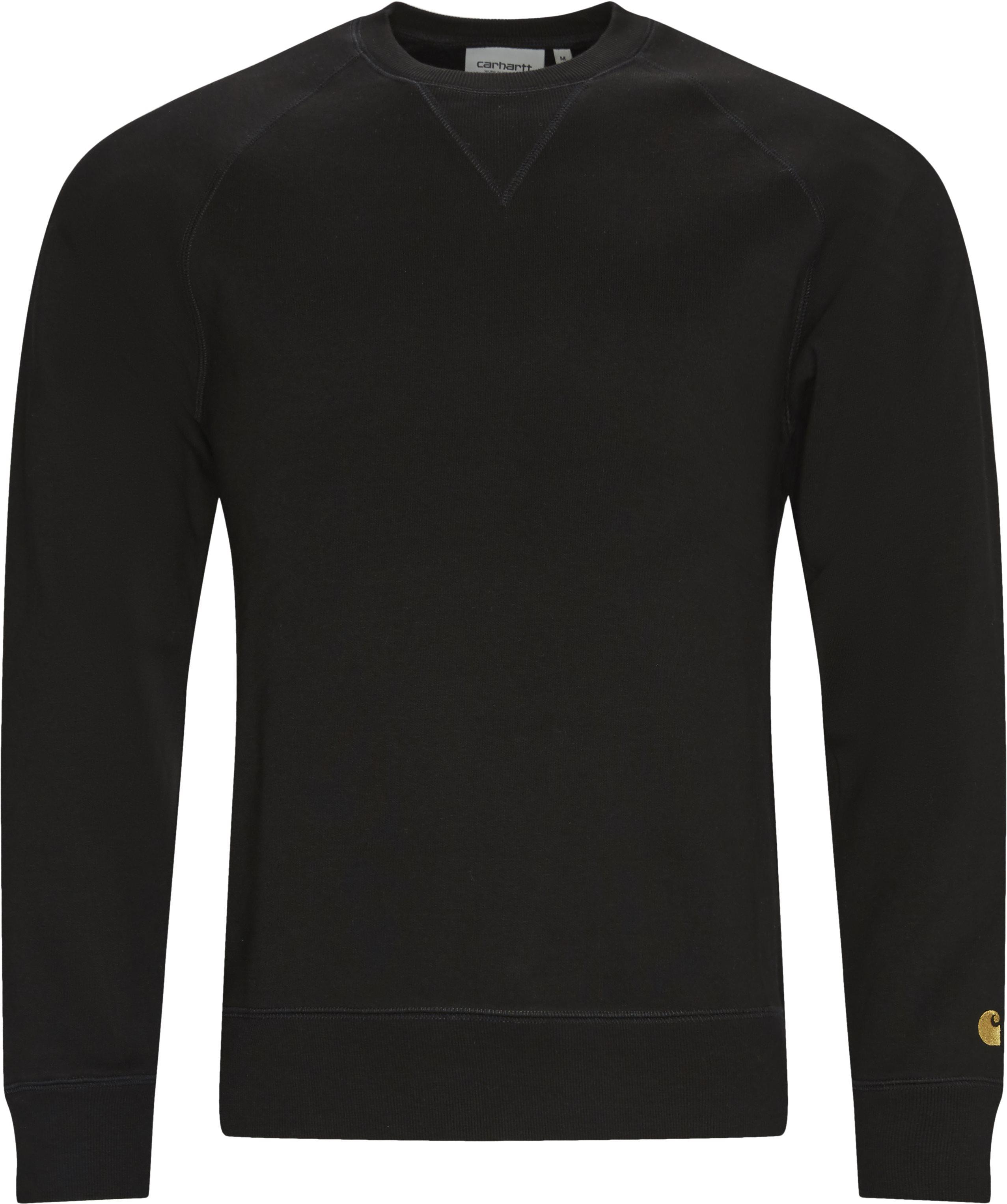 Crew Chase Sweatshirt - Sweatshirts - Regular fit - Sort