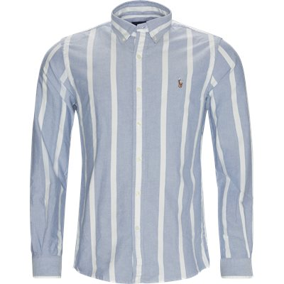 Striped Custom Fit Shirt Custom fit | Striped Custom Fit Shirt | Blå